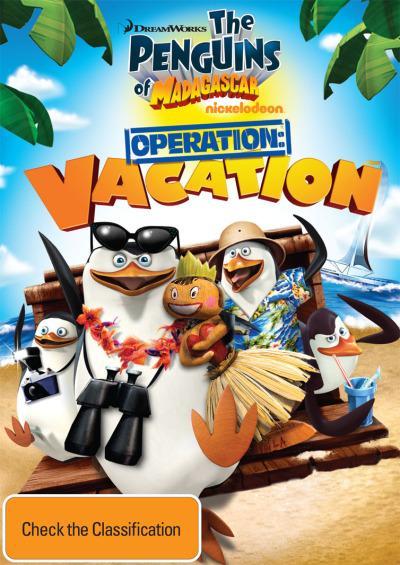Les Pingouins de Madagascar - Vol. 5 : Opération vacances affiche
