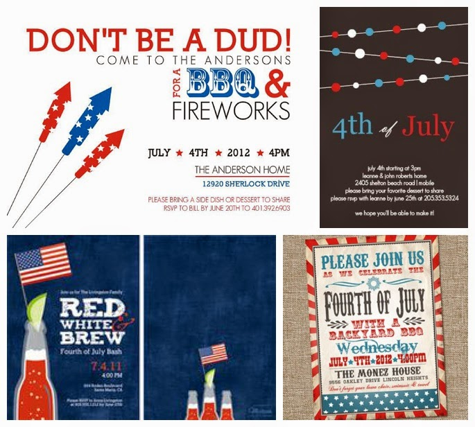 wediquette and parties easy red white blue party ideas