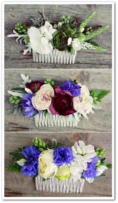 blommor i håret, hårdekoration med blommor, istället för midsommarkrans