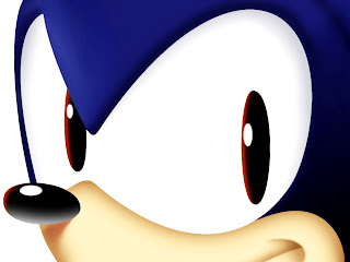 Sonic The Hedgehog Huge Eyes HD Wallpaper