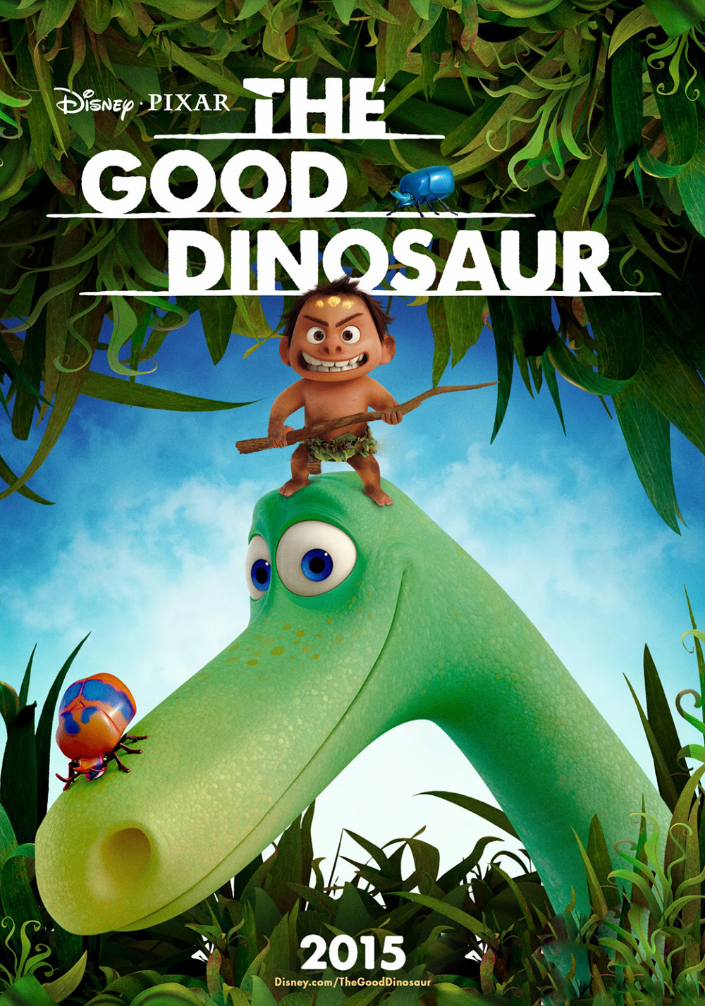 The Good Dinosaur Poster 2015
