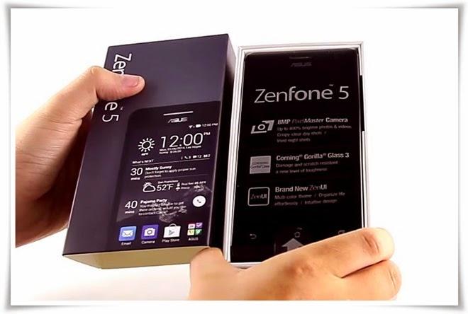 Review Harga dan Spesifikasi Asus Zenfone 5 (A500CG)
