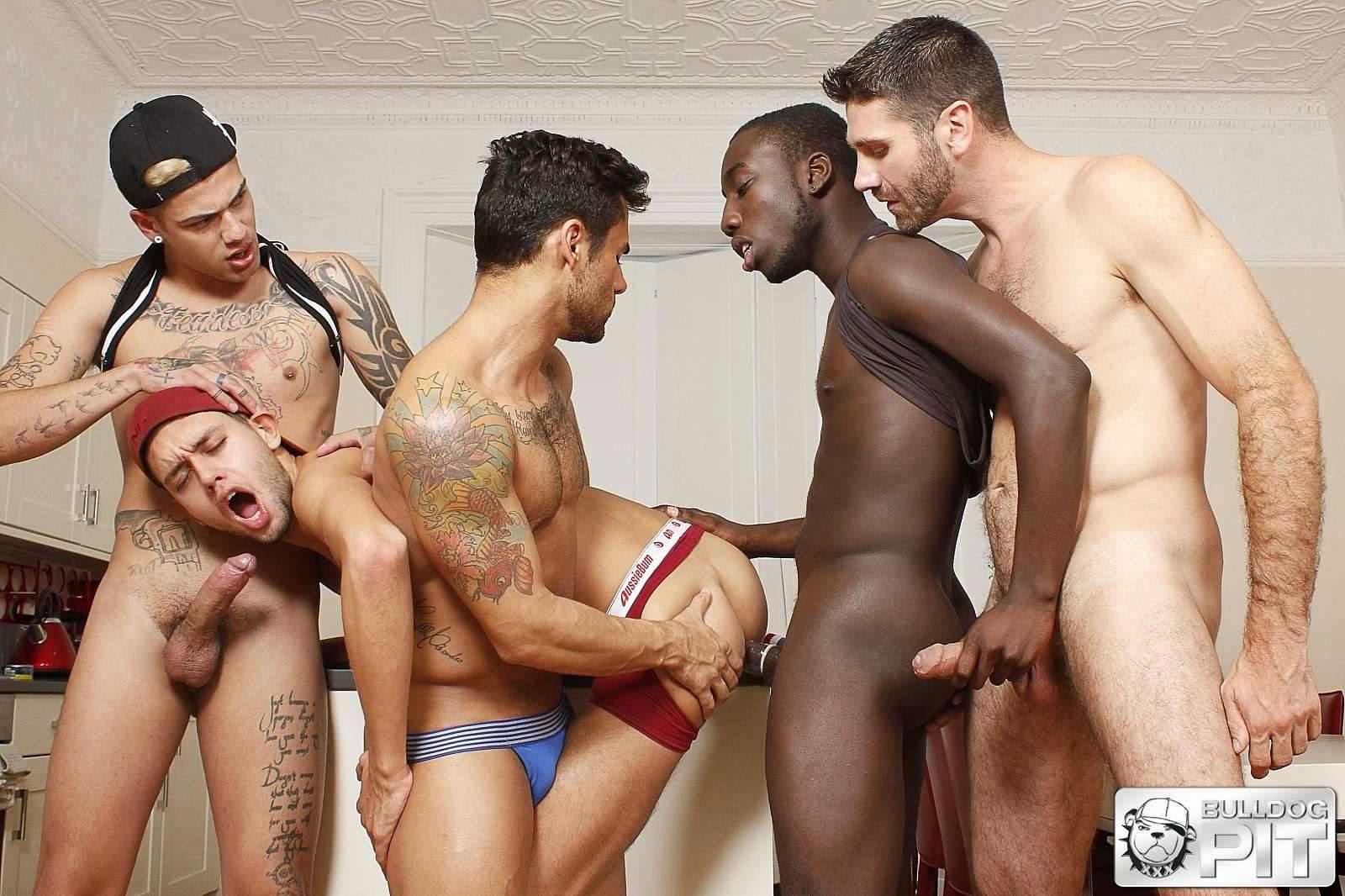 longhair gay orgia