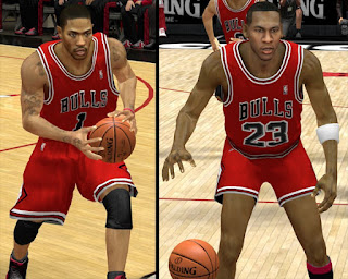 NBA 2K13 Chicago Bulls Alternative Jersey Mod