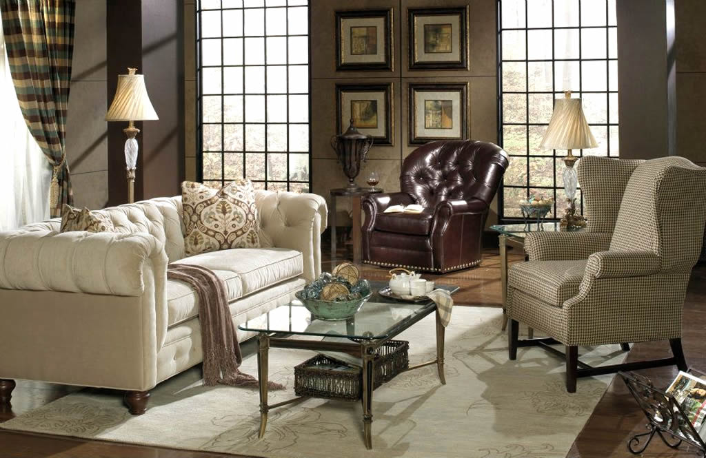 Eye for design decorate with the chesterfield sofa for for Sofa interior design