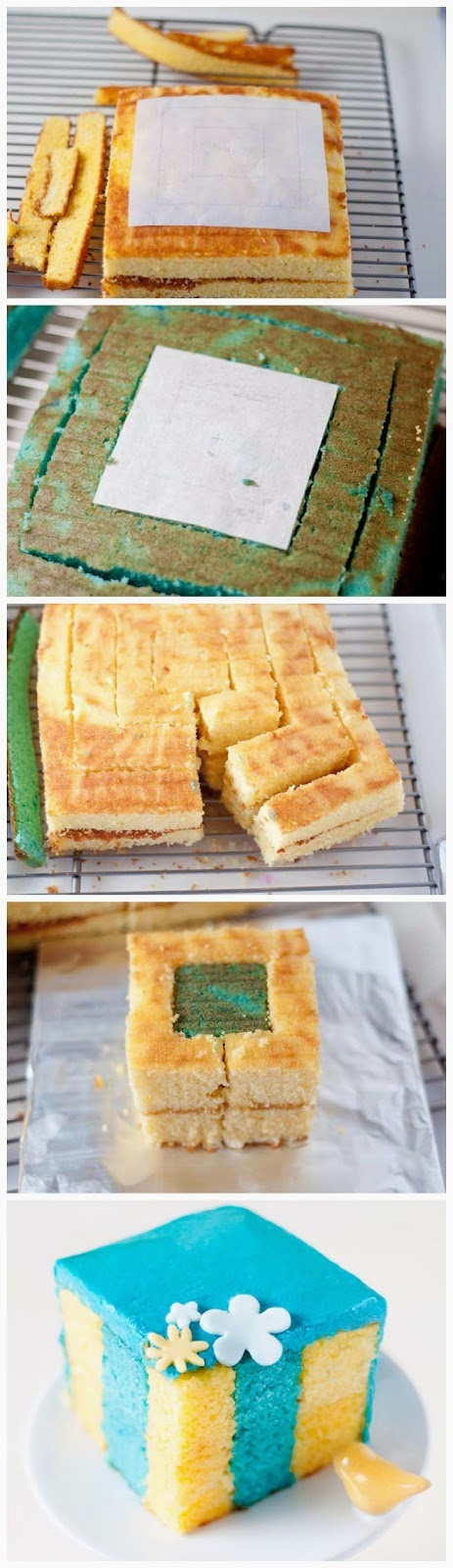 How to Make a Vertical Layer Cake