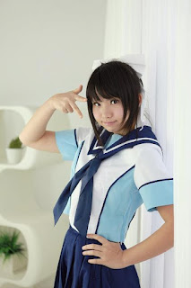 Enako Cosplay as Takane Manaka from LovePlus