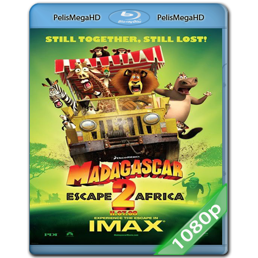 MADAGASCAR 2 (2008) 1080P HD MKV ESPAÑOL LATINO