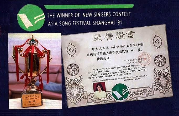 ASIA SONG FESTIVAL 1991, SHANGHAI CHINA.
