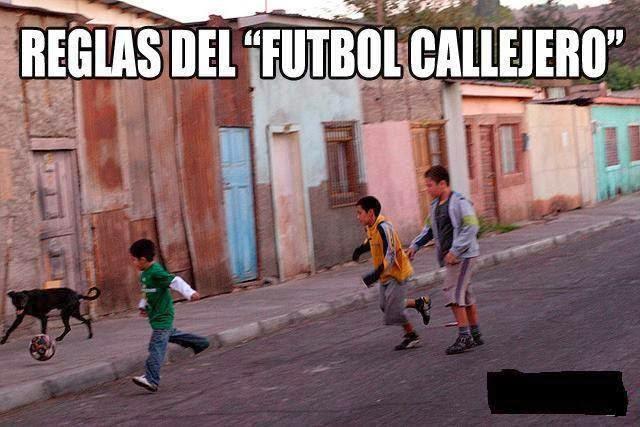 Vivir de cara a dios reglas del futbol callejero for Regla del fuera de lugar