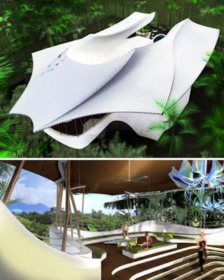 Rumah Konsep Open To Nature