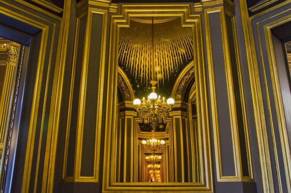 Opéra Garnier - salon du soleil