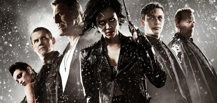 Pôsteres, imagens e clipes inéditos de Sin City 2: A Dama Fatal, com Jessica Alba, Eva Green & Bruce Willis