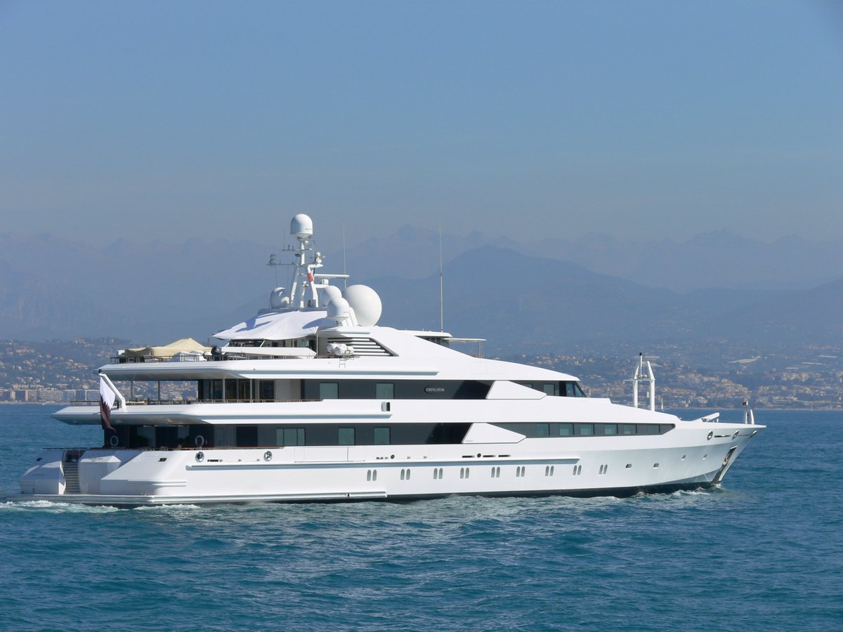 Megayacht CONSTELLATION