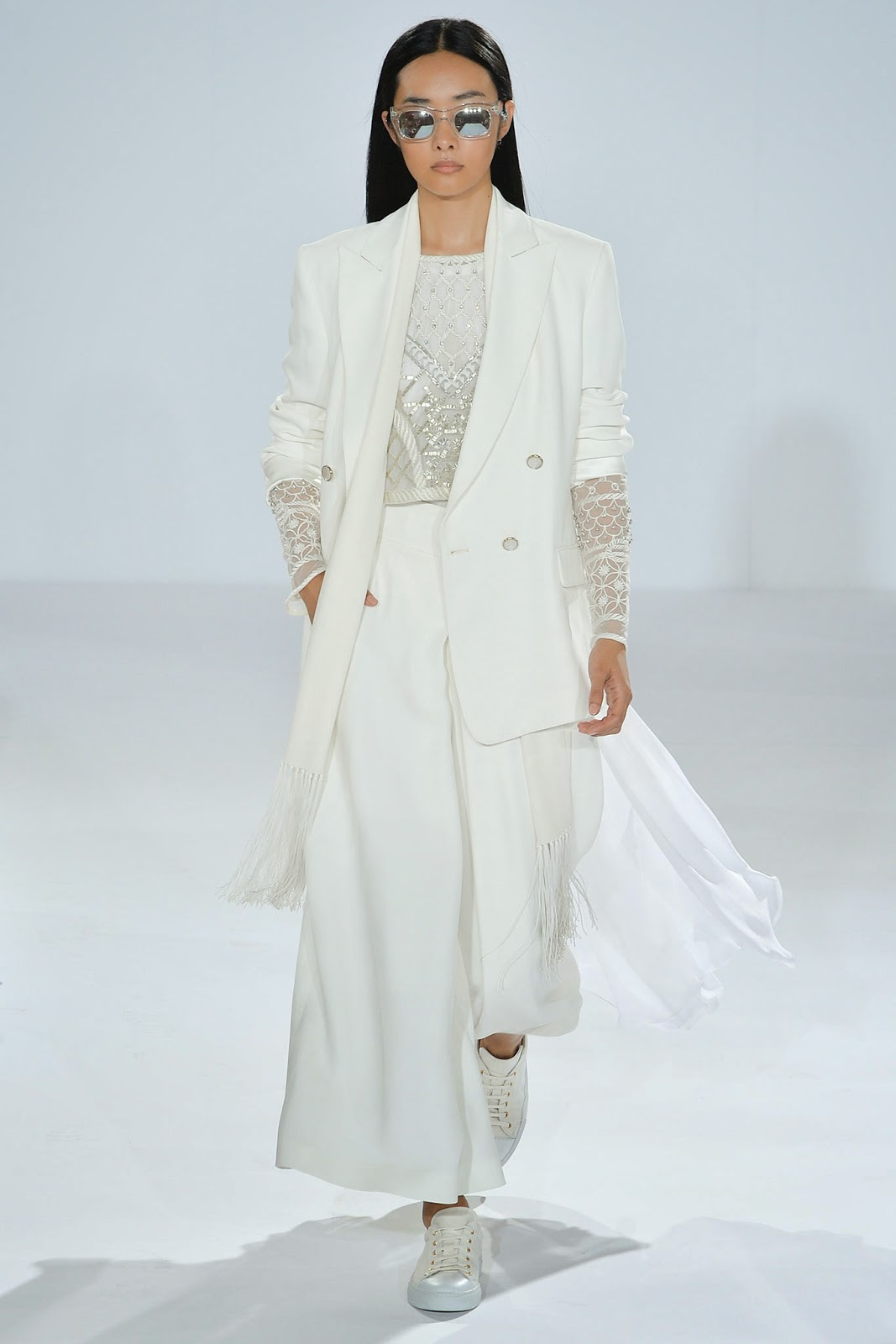 Moda Banco tendência primavera verão 2015 look branco