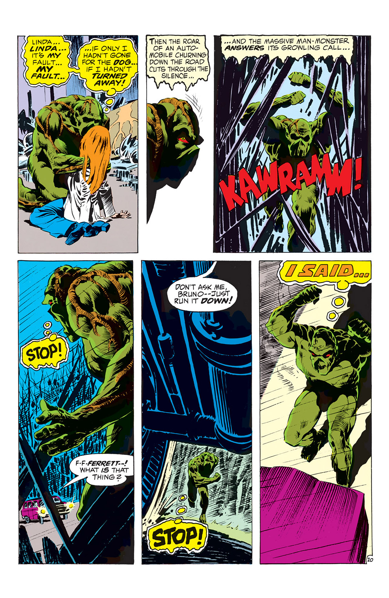 Swamp Thing (1972) Issue #1 #1 - English 21