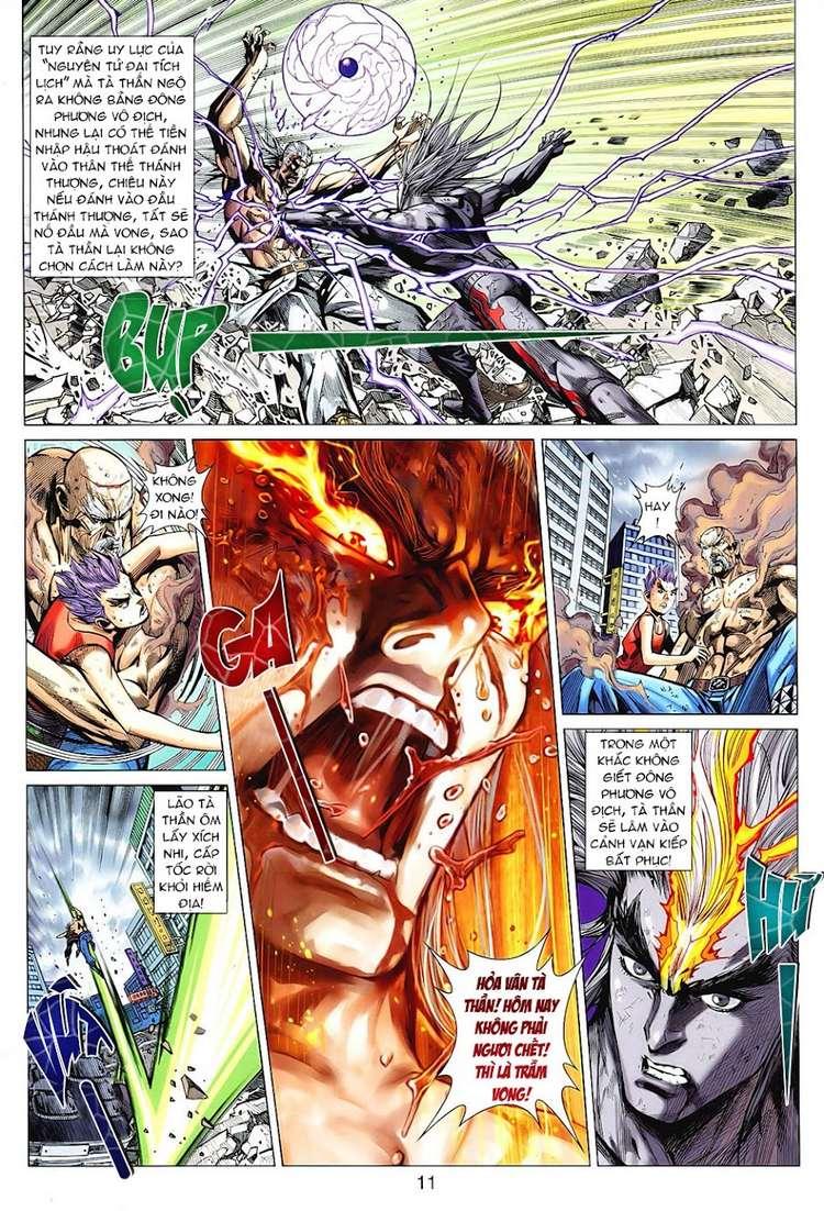 Hỏa Vân Tà Thần II chap 100 Trang 11 - Mangak.info