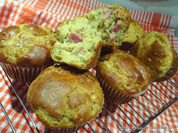 Cheese Ham CHICKPEA yogurt MUFFIN