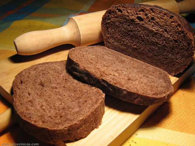 Pan de chocolate casero