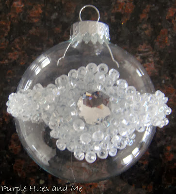 DIY Beaded Ornaments