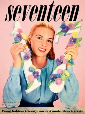Seventeen magazine cover, September 1944