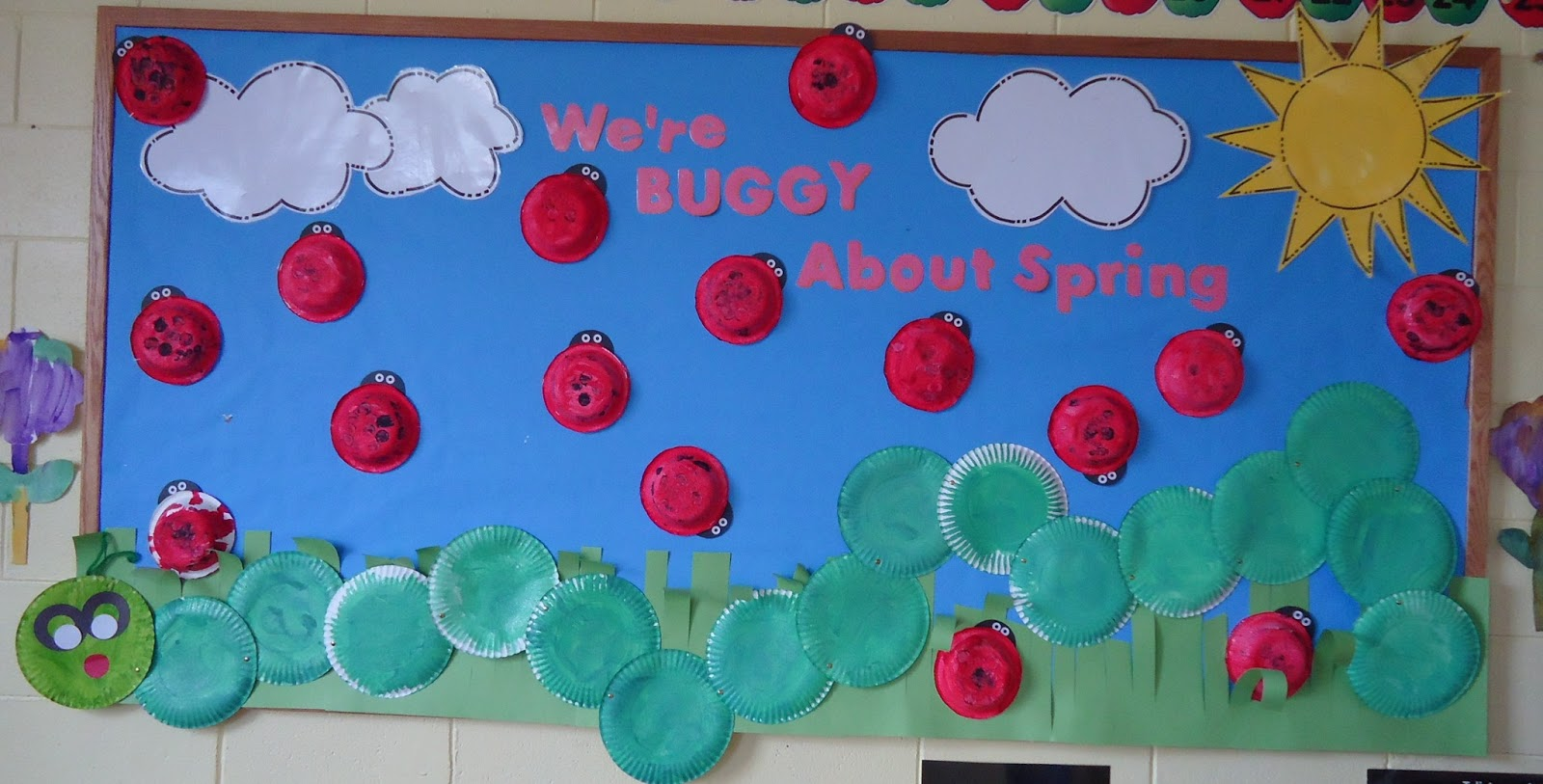 This is one of our favorite bulletin boards and each year we change it ...