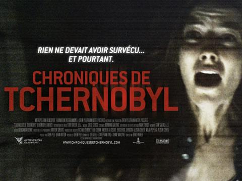 Affiche Les chroniques de Tchernobyl