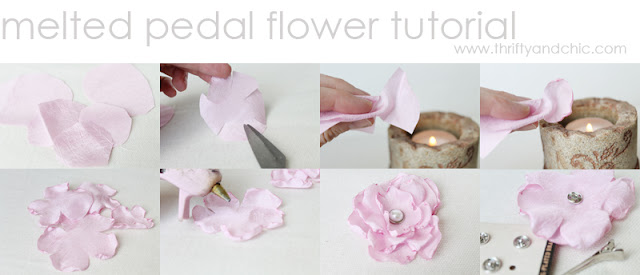 Melted Pedal Flower