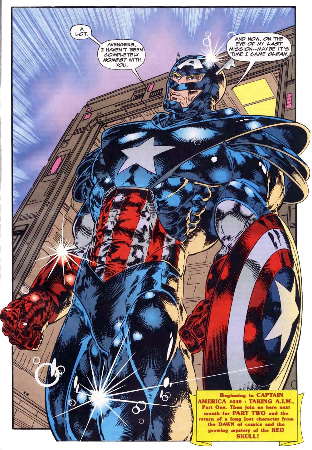 Captain America (1968) Issue #439c #391 - English 23