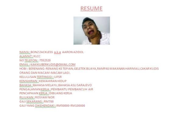 Resume terbaik 2011