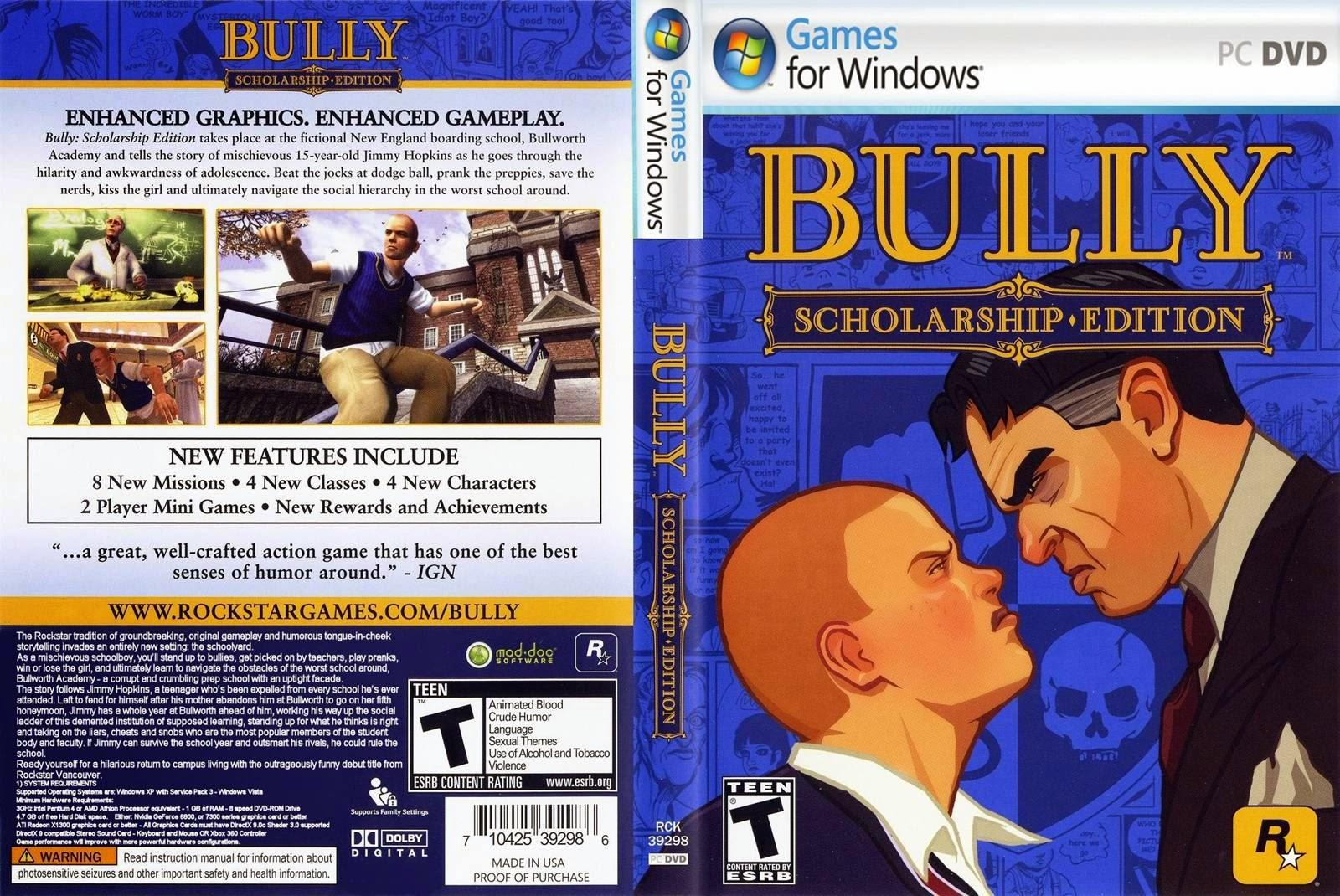 Bully: Scholarship Edition imagens
