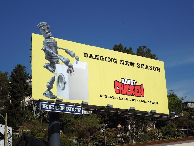 Robot Chicken banging season 6 billboard