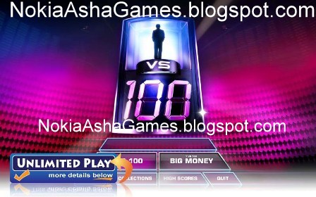 vs 100 240x400 java game Download for Nokia Asha 305 306 308 309 310