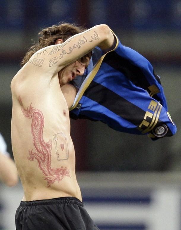 Tattoo soccer Zlatan Ibrahimovich