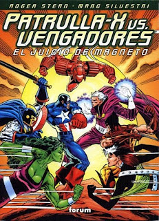 Comic Patrulla X Vengadores