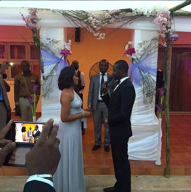 chris attoh wedding pictures