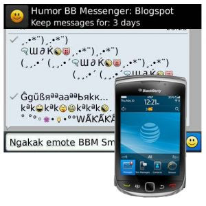 Autotext BlackBerry Unik Terbaru Tulisan Unik BB Emoticon Smiley Lucu Menarik Ponsel Saat BBM Messenger Huruf Keren