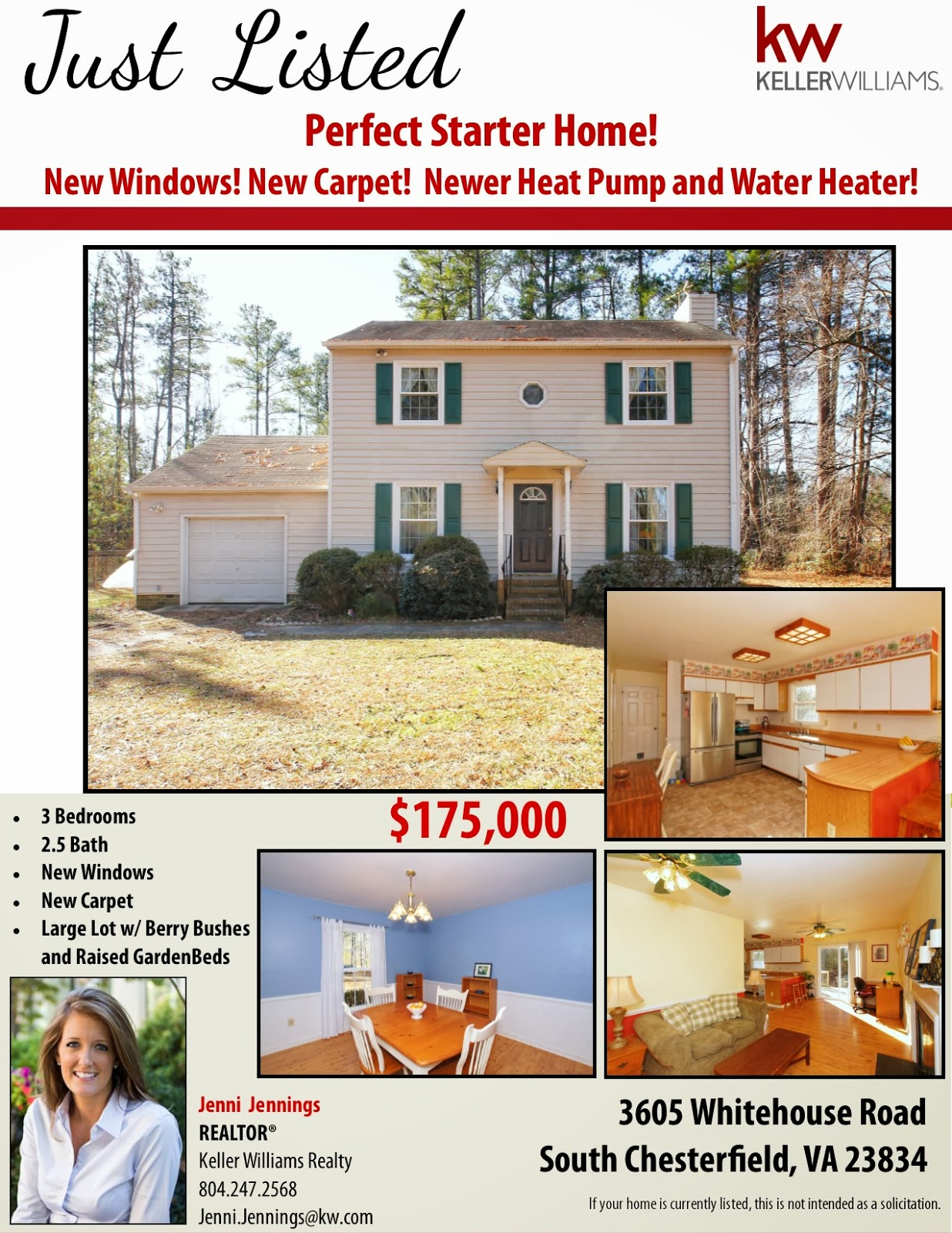 home search the jenni jennings team just listed perfect starter home