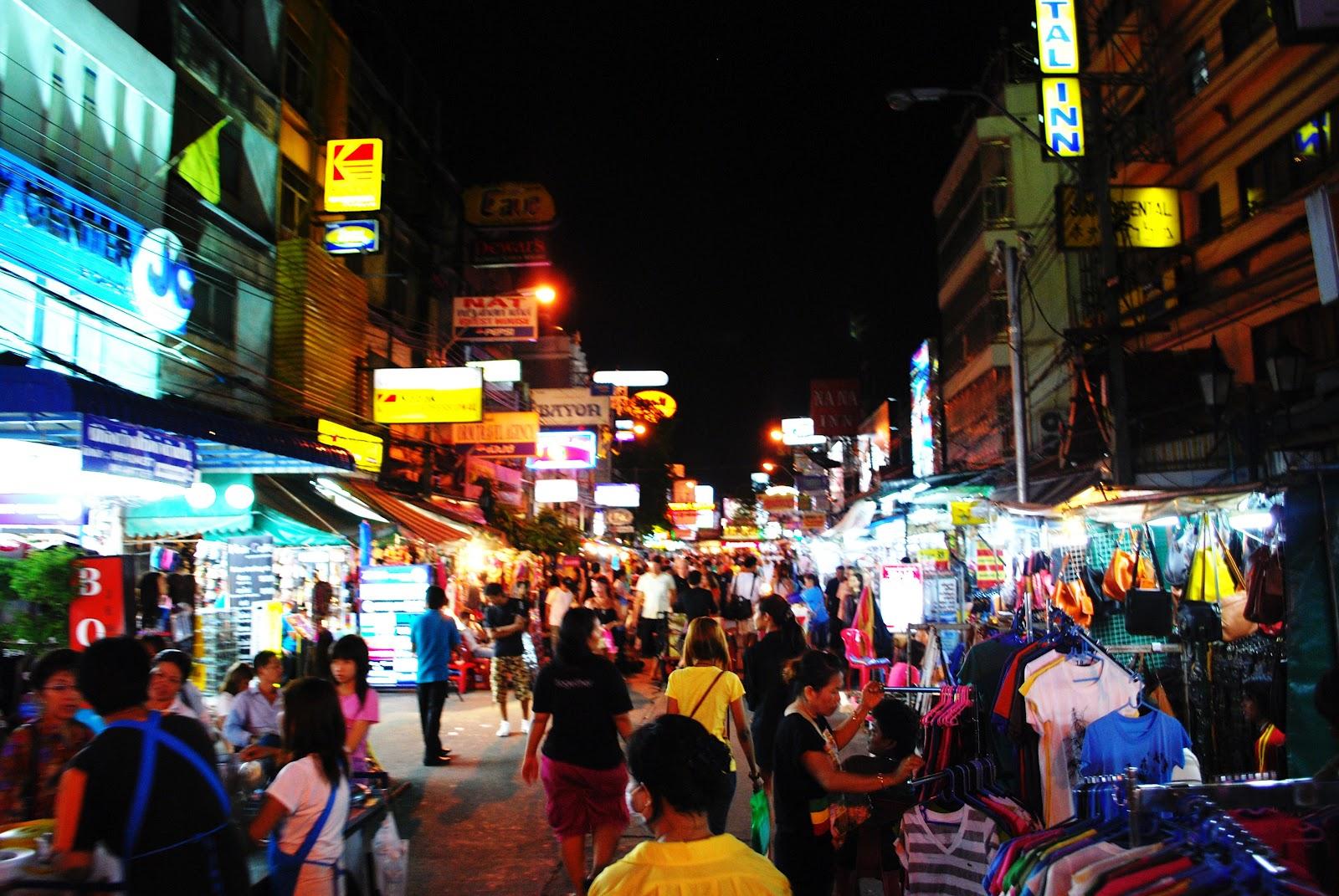 Life Through His Eyes: KHAO SAN ROAD, BANGKOK, THAILAND