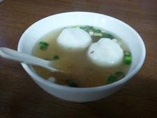 金華麵店魚丸湯