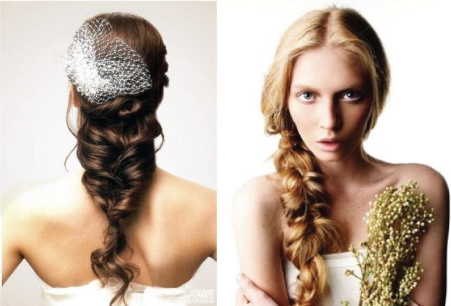 More Braids For The Big Day At Wedding Trends Braided Hairstyles