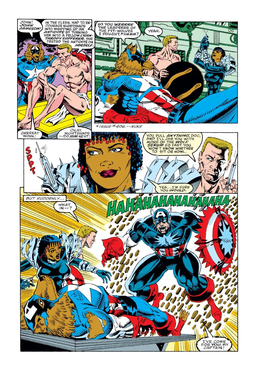Captain America (1968) Issue #408 #357 - English 4