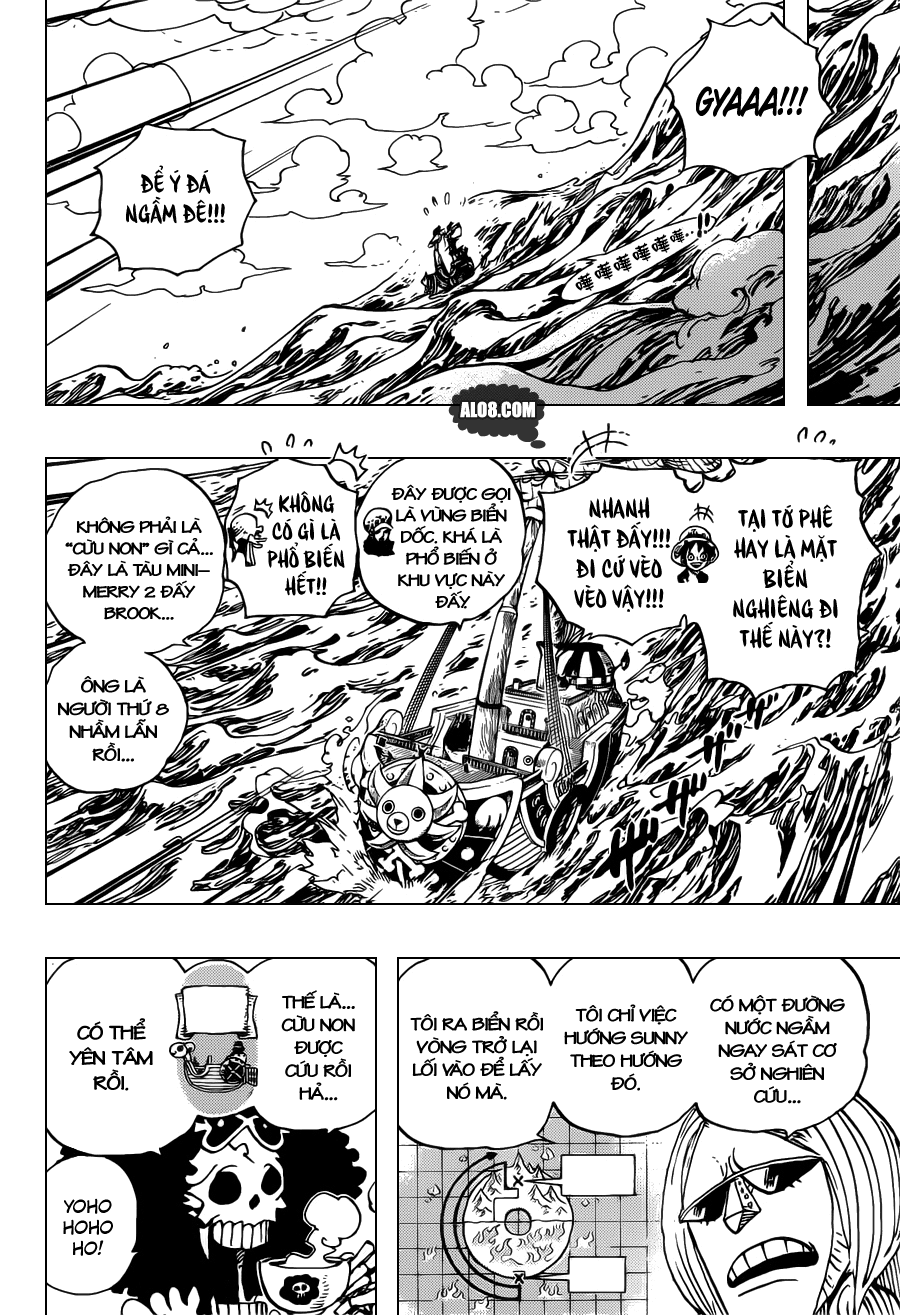One Piece Chapter 698: Doflamingo xuất hiện 010