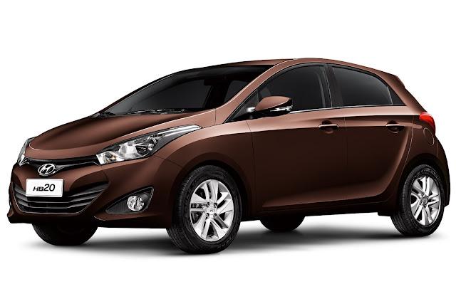 Hyundai HB20 - marron