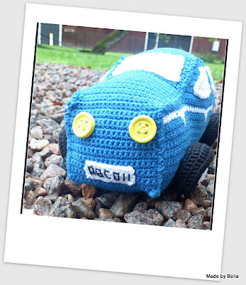 free crochet amigurumi car pattern