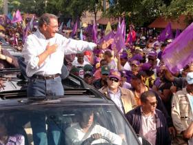 Danilo proclama en el Cibao que el pueblo llevará al Palacio Nacional