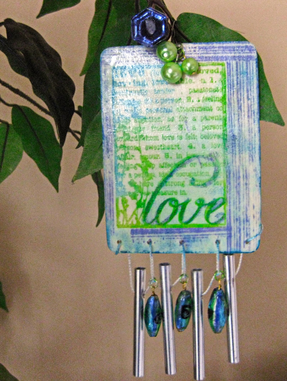 Ann Butler Designs wind chime