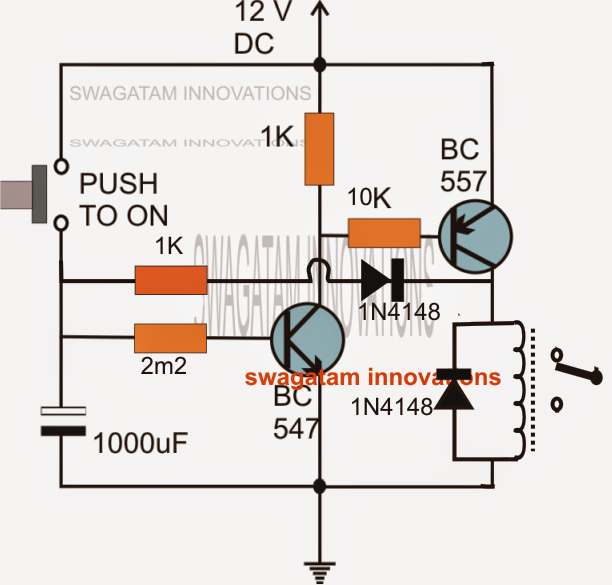 How to Build a Long Duration Timer Circuit Using Transistors