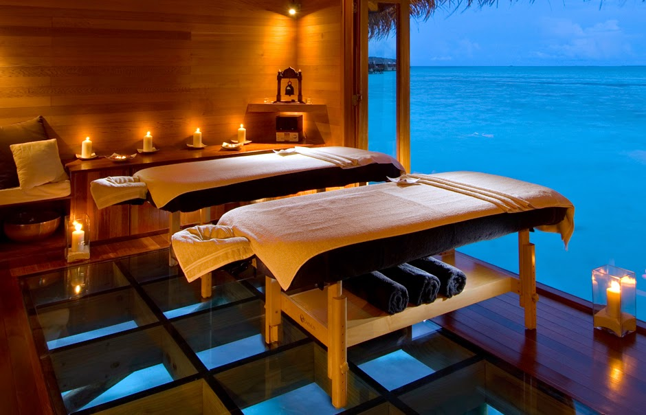 FoodAndTravel.me Cites Maldives Resorts Amont World Top Shining Spas