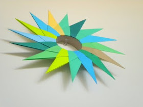 Origami Wall Decor Tutorial